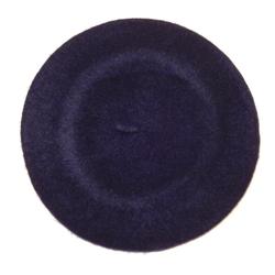 Chaplino Baskenmütze mit französischem Charme blau