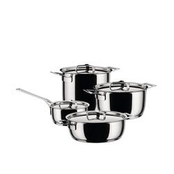 Alessi Topf-Set Alessi Pots&Pans - Topf-Set 9-tlg. (AJM100S9), (9-tlg)