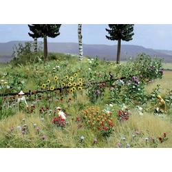 Busch 1258 H0 Blumen- und Pflanzen-Set