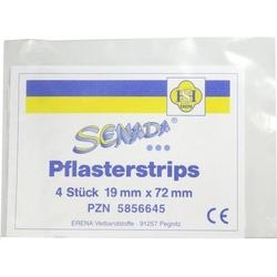SENADA Pflasterstrips 19x72 mm 4 St
