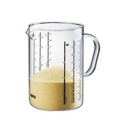 GEFU Messbecher METI 1,0 Liter aus Borosilikatglas