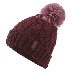Rab Braid Beanie W - Mütze Dark Red/Rose One Size