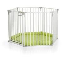 HAUCK Baby Park 4 in 1 white/lime inkl. Einlage (597040)