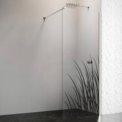 welltime by GEO Walk-in-Dusche, 90 cm, chrom