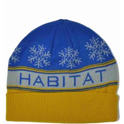 Beanie HABITAT - Slope Ryl/Gold (MODRA)