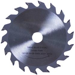 CONNEX Kreissägeblatt Handkreissägeblatt, HM, mittel, Ø 140 mm grau
