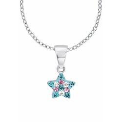Prinzessin Lillifee Silberkette Stern, 2013183, mit Kristallsteinen