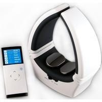 Maximex Nacken-Massagegerät Nackenmasseur, 4-fache Wellness-Power für die beanspruchte Nackenpartie weiß