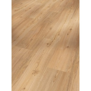 Parador Vinyl Basic 30 - Vinylboden Eiche natur - Hochwertiger, elastischer Bodenbelag in Holz-Optik, leise und komfortabel mit Klick-Verlegung - mit V-Fuge