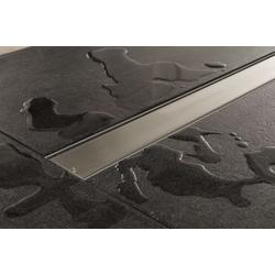 CLP Duschrinne Mariola 500mm, mit Siphon und Edelstahlabdeckung