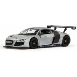Jamara Modellauto Diecast, Audi R8 LMS, 1:24,silber, Maßstab 1:24, mit Lenkung