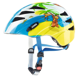 Uvex Kid 1 Monkey - Fahrradhelm - Kinder Blue/Yellow 47-52 cm
