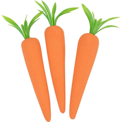VBS Dekofigur Styropor Möhre, Orange Ø 3 cm