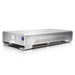 G-Tech G-DRIVE mit Thunderbolt 8TB Silber - externe Festplatte, USB-B 3.0 und Thunderbolt