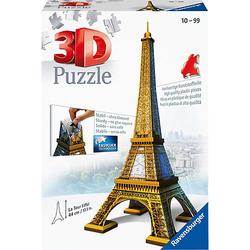 3D-Puzzle, H44 cm, 216 Teile.  Eiffelturm