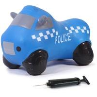 Jamara Hüpftier Police Truck mit Pumpe