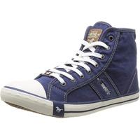MUSTANG Herren 4058-504 Hohe Sneaker, Blau (841 Jeansblau), 46 EU