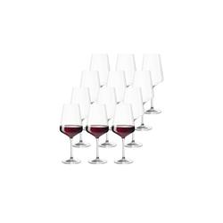 LEONARDO Rotweinglas Leonardo PUCCINI Rotweinglas 0,12l 12-tlg. (12-tlg), Glas