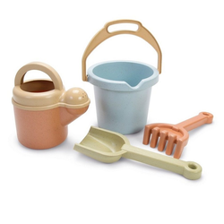 dantoy Sandeimer Dantoy Bio Gartenspielzeug Sandkasten-Spielzeug für Kinder Schaufel Eimer Rechen, in Box