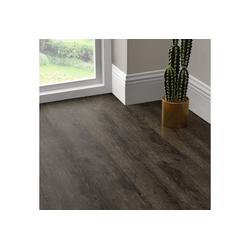neu.holz Vinylboden, Mons Vinyl Laminat Bodenbelag Dekor-Dielen Selbstklebend ca. 4m² Dark Oak braun