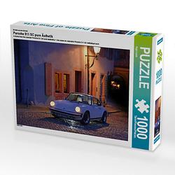 Porsche 911 SC pure Ästhetik Lege-Größe 64 x 48 cm Foto-Puzzle Bild von Ingo Laue Puzzle