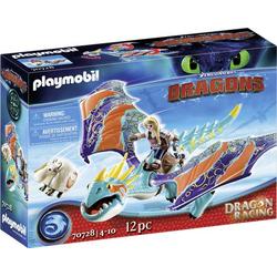 Playmobil® Dragons Dragon Racing: Astrid und Sturmpfeil 70728