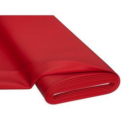 Hochwertiges Kunstleder, rot