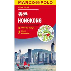 MARCO POLO Cityplan Hongkong 1:12 000