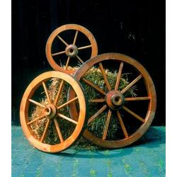 promadino Gartenfigur Wagenrad mittel, Ø: 74 cm