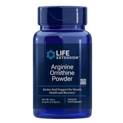 Arginin Ornithin Pulver 150 Gramm (5,29 Oz) - Life Extension