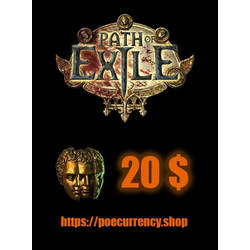 Path of Exile Currency Shop GLOBAL Key 20 USD