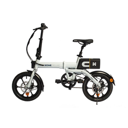 HOME DELUXE E-Bike OPTIMUS, Automatikschaltung, 250,00 W weiß