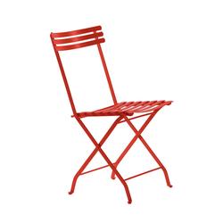 Klappstuhl Flower Ethimo rot, Designer Ethimo Design Studio, 84x44x52 cm