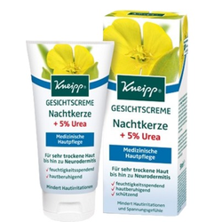 KNEIPP GESICHTSCREME Nachtkerze+5% Urea