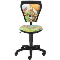 NOWY STYL Kinderzimmer Schreibtischstuhl Kinder Tiere Drehstuhl Ministyle Cartoon