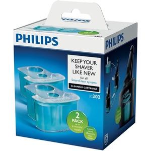 Philips Reinigungskartusche für Rasierer mit SmartCleanSystem JC302/50, 2er-Pack