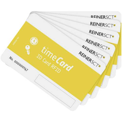 REINER SCT timeCard RFID Chipkarten 5 DES Blanko-Chipkarten