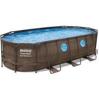Bestway Power Steel Swim Vista Frame Pool, oval