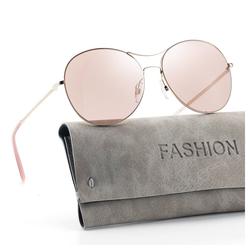 GlobaLink Sonnenbrille GlobaLink SonnenBrille 01 Damen Retro Sonnenbrille - Avoalre Vintage runde Sonnenbrille Klassischer Designer-Stil - UV400-Schutz rosa