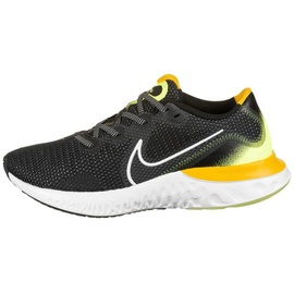 Nike Renew Run M black/white/volt glow/universe red 40,5