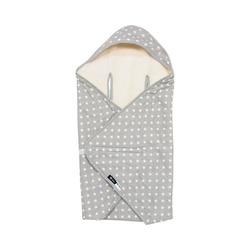 Einschlagdecke Einschlagdecke für Babyschalen Stars, 80 x 80 cm, Alvi®