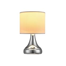 lux.pro Tischleuchte, Avatar Tischlampe Nachttisch Leselampe weiß weiß