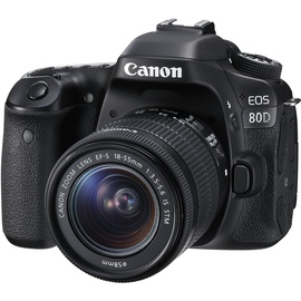 Canon EOS 80D + EF-S 18-55mm F3,5-5,6 IS STM