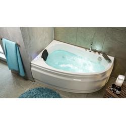 Emotion Whirlpool-Badewanne Stardust links Premium Whirlpool Set (L/B/H) 150/95/58,5 cm