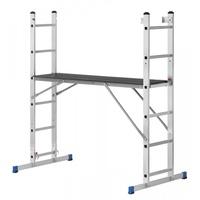 Pro-Bau-Tec Alu-Mehrzweckleiter 2 x 6 Stufen