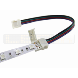 LED Strip RGB 10 mm Click/Kabel/Click