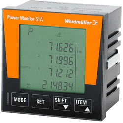 Weidmüller POWER MONITOR 51A Digitales Einbaumessgerät
