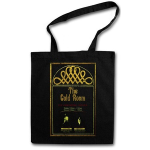 THE GOLD ROOM STOFFTASCHE Jack Shining Stanley Nicholson Hotel Torrance