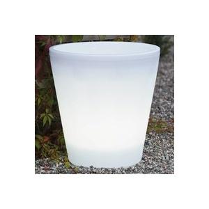 LED-Blumentopf Assisi beleuchtet Ø 37 cm