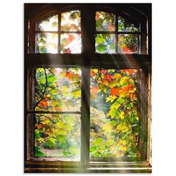 Artland Wandbild Altbau, Fenster & Türen (1 Stück) 60 cm x 80 cm